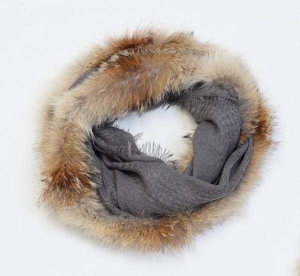 Schlauchschal Cojote-Fell